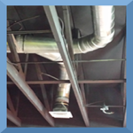 duct install with border